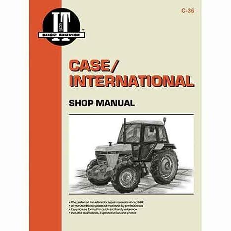 amazon com all states ag parts i t shop manual c 36 case 1294 rh amazon com Case 85XT Service Manual Case 860 Operator Manuals