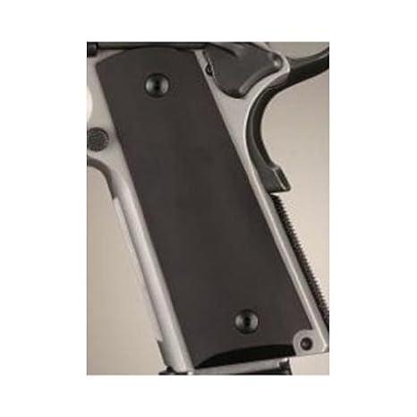 Hogue Colt & 1911 Government Grips Aluminum Matte Black