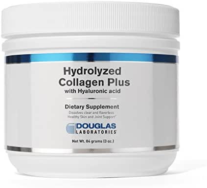 Douglas Laboratories - Hydrolyzed Collagen Plus - with Hyaluronic Acid for Healthy Skin and Joint Support - 84 Grams (3 oz.)