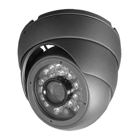 HDView 2.4MP 4-in-1 (TVI/AHD/CVI/960H) Outdoor SONY Sensor Turbo Platinum Dome Camera Wide Angle 2.8mm Fixed Lens 1080P 24IR