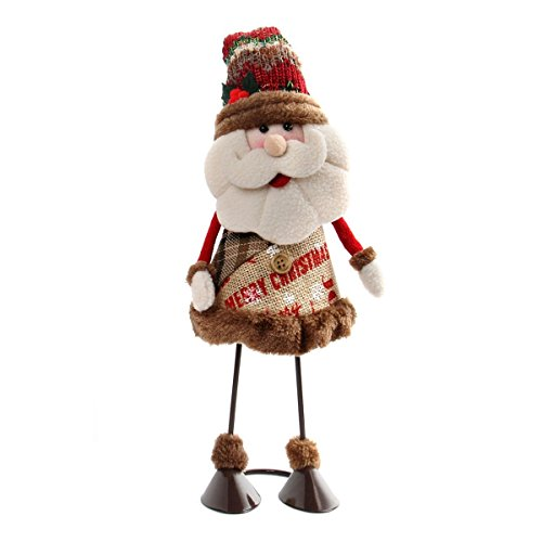 Bouncing Christmas Standing Figurine Toy,CHFUN Swing Santa Claus Toy Xmas Home Indoor Table Ornament Decorations,Christmas Santa Decoration, Home Décor, Christmas gifts or Birthday Present (Bouncing Snowman)