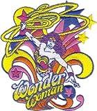 Wonder Woman DC Comics Cartoon Iron On Patch - Sexy Hero Lasso Pop Art Applique