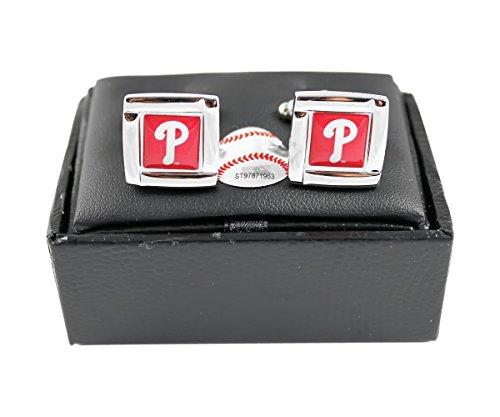 Philadelphia Phillies - MLB Team Logo Cufflinks