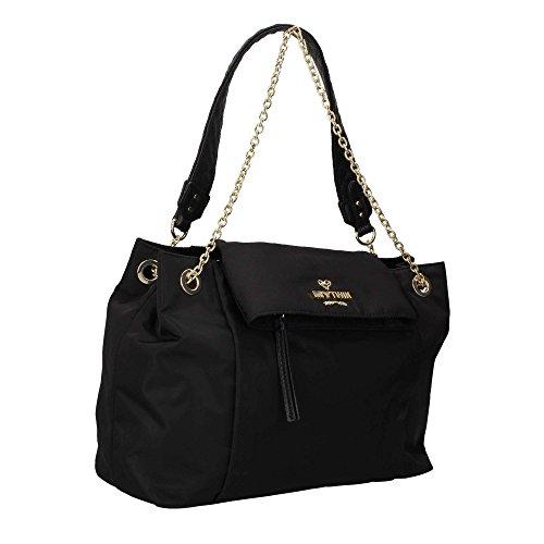MY TWIN TWINSET VA7PLA Shopper Donna Nero TU