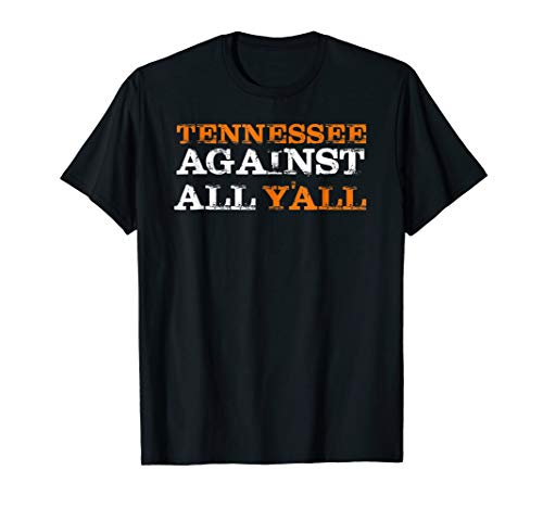 Tennessee VS All Yall T-shirt Knoxville T shirt