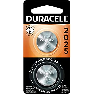 Duracell - 2025 3V Lithium Coin Battery - With Bitter Coating - 2 Count