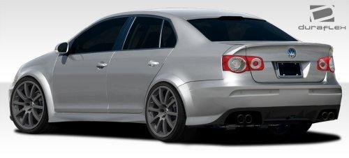 Duraflex ED-SKG-881 R-GT Wide Body Rear Bumper Cover - 5 Piece Body Kit - Compatible For Volkswagen Jetta 2005-2010