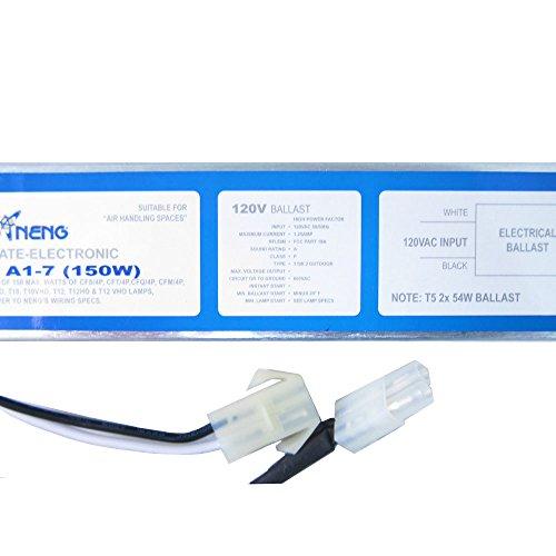 Electronic Ballast Retrofit (WavePoint 2X 54W Electronic Ballast Model # A1-7-2 for 01003 & 01021 T5 HO Fixtures)