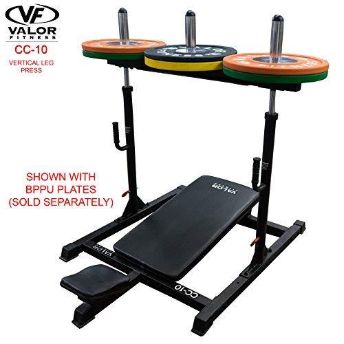 Valor Fitness CC-10 Home Gym, Vertical Leg Press Machine - Strengthens and Tones Glutes, Hams, and Calves