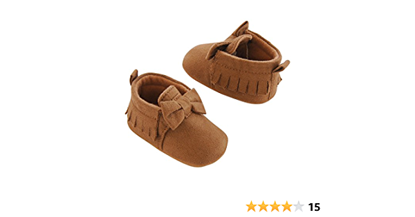 Carter's Girls Baby Soft Sole Moccasin