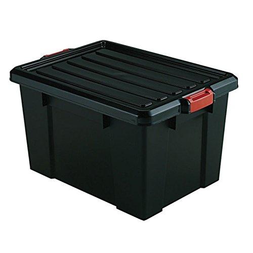 IRIS 18 Gallon Heavy Duty Tote Storage (Containers Quart Storage 72)