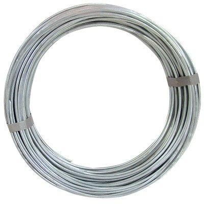 OOK 50140 9 Gauge, 50ft Steel Galvanized Wire - Wire 10 Craft Gauge