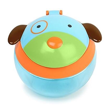 Skip Hop Zoo Snackcup, Snackbox, Aufbewahrungsbehälter für Kinder, mehrfarbig, Biene Brooklyn 252554