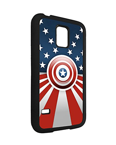 Marvel Samsung Galaxy S5 Mini Case Spiderman SuperHero, Galaxy S5 Mini Case Marvel Comic Logo TPU Silicone Protective Case Cover for Men