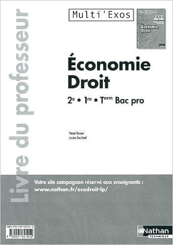 ECO DROIT 2E/1E/TERM BPRO epub pdf