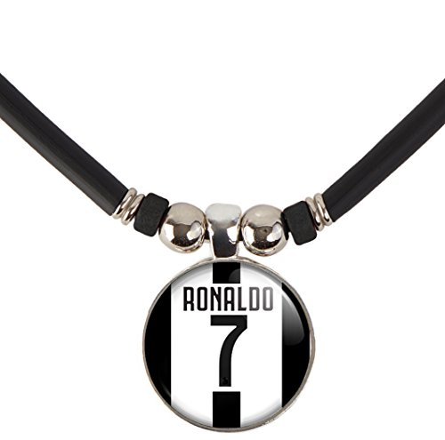 SpotlightJewels Cristiano Ronaldo CR7 Juventus Soccer Jersey Pendant Necklace