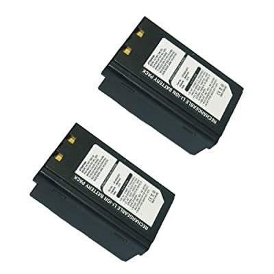2pcs Exell Li-Ion Barcode Scanner Battery Fits Symbol SPT1800 SPT1700 SPT1740 USA SHIP