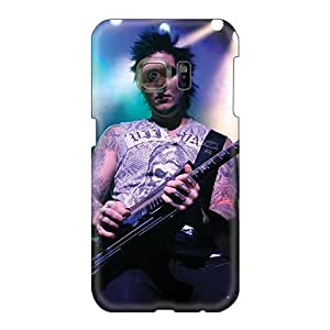 Shockproof Cell-phone Hard Cover For Samsung Galaxy S6 (jiM2101HeTy) Unique Design Attractive Avenged Sevenfold Band A7X Series