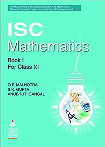 Icse 11th Maths Book