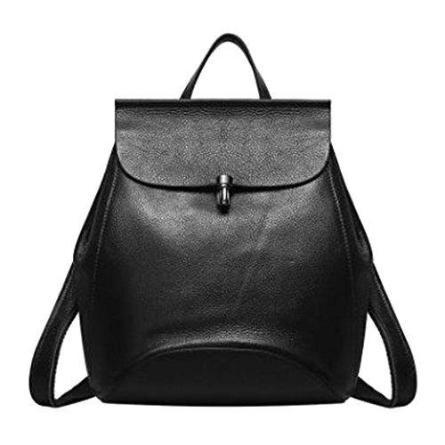 Jagenie Backpack Bag Black Black Black Woman