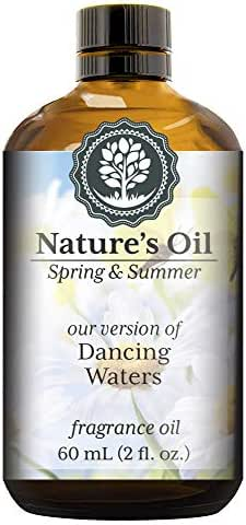 Dancing Waters Fragrance Oil (60ml) For Diffusers, Soap Making, Candles, Lotion, Home Scents, Linen Spray, Bath Bombs, Slime