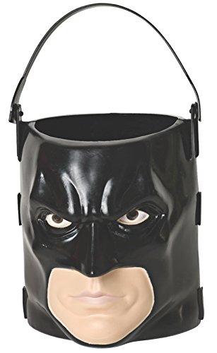 Batman: The Dark Knight Rises: Batman 3D Trick-or-Treat Pail (Black) -