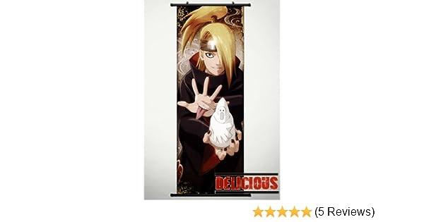 Naruto-shippuden-Deidara Wall Poster Grand format A0 Large Print