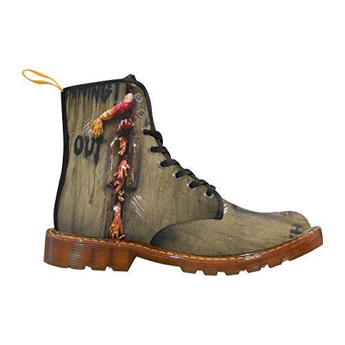 D-story Chaussures Zombie Main Lacent Bottes De Martin Pour Les Hommes