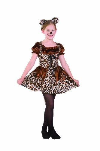RG Costumes Cutie Cheetah, Child Large/Size 12-14 by RG (Cutie Cheetah Child Costumes)