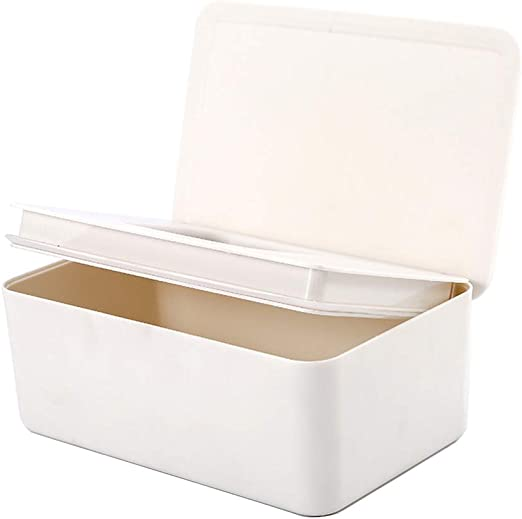 RROVE Caja de Almacenamiento de pañuelos con Soporte para dispensador de toallitas húmedas Tapa para Tiendas domésticas: Amazon.es: Hogar