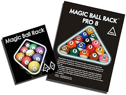 Benkeg 6pcs 1pcs Magic Ball Rack Billard Rack Sheet Cue Ball Rack Triangle Cue Ball Accessoire 8//9//10 Ball Pack Combo