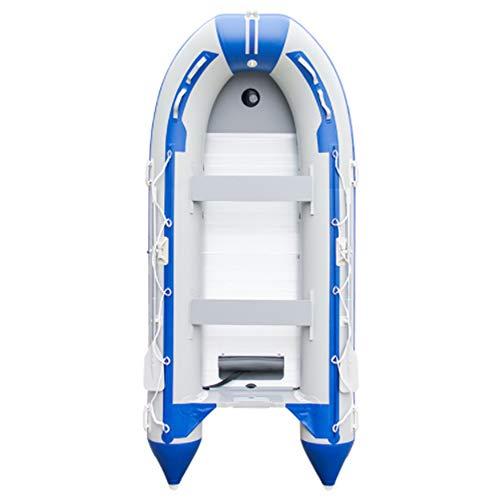 HYYQG Inflatable Kayak 2 Person,Sea Fishing Kayak Accessories Aluminum Alloy Paddle Air Pump Kit Bottom Plate Bag
