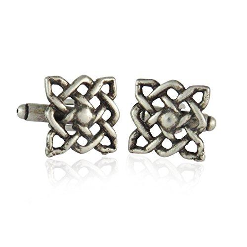 Celtic Designer Cufflinks (Celtic Knot Cufflinks By Jewelry Mountain)