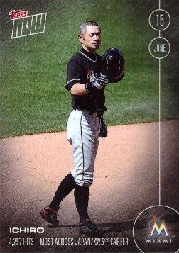 2016-topps-now-154-ichiro-suzuki-baseball-card-4257-hits-most-hits-across-japan-mlb-career-june-15-2