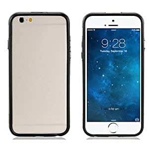 GOG Dual Color Style Design Bumper Frame Border TPU Soft Case for iPhone 6 (Assorted Colors) , Yellow