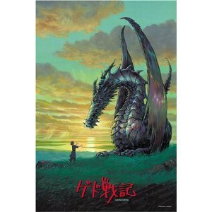 Japan Jigsaw Puzzle #70 1000p Ghibli Tales From Earthsea Bonds of Dragon and Human When Completed Width 75cm(29.53in)ÃÂ- Hight 50cm(19.69in) by ensky