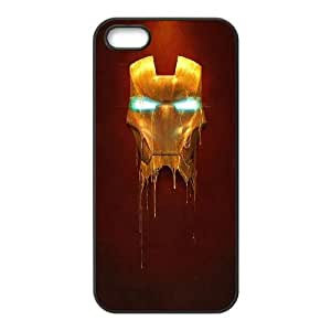 iPhone 4 4S Phone Case Black Iron Man Mask DC3I6HLC Cell Phones Covers
