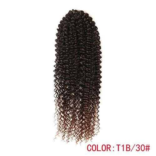 Brown Crochet Braids Hair 85g/pc Synthetic 19