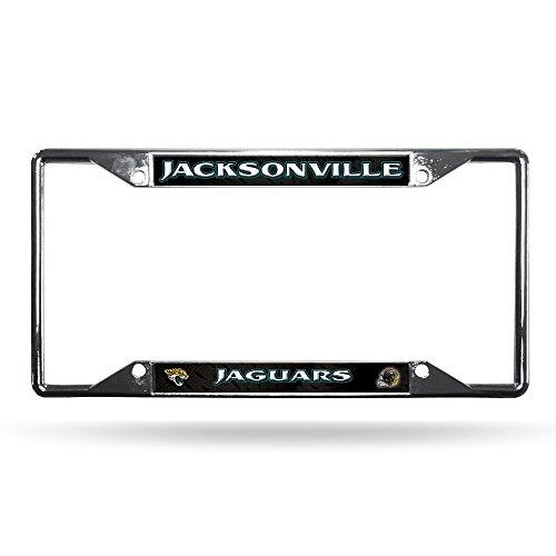 NFL Jacksonville Jaguars Chrome Plate Frame, 12