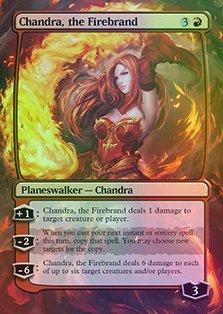 Art Chandra Art (Chandra, the Firebrand - Casual Play Only - Customs Altered Art Foil)