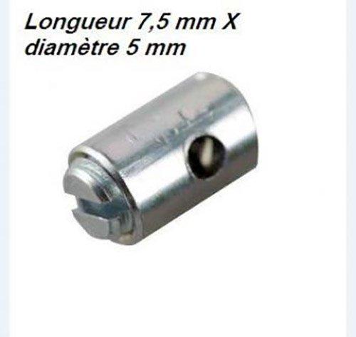 Algi 00428010-100 Ajustacables para manguito de acelerador de moto o scooter Magura 5 x 7, 5 mm NC