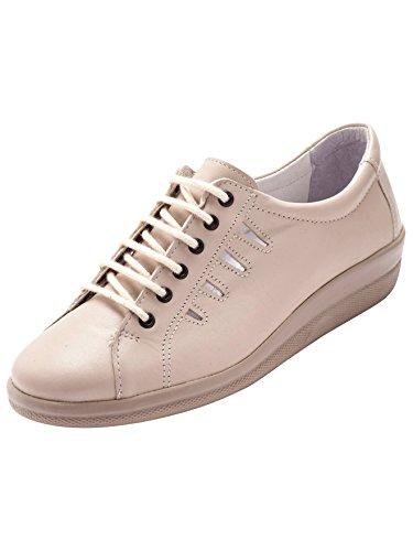 Zapatos Otra Pediconfort Piel Mujer Beige Cordones De Aqww7P