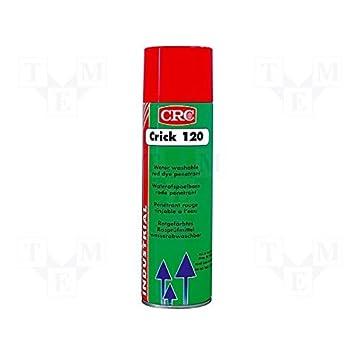 CRC - Spray Detector De Grietas Penetrante Rojo Crick 120 De 500 Ml.: Amazon.es: Bricolaje y herramientas