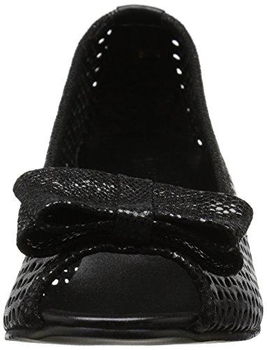 Brinly Sandal Black Vip Perfed Wedge VANELi Women's Summer Nappa Black qvtW50