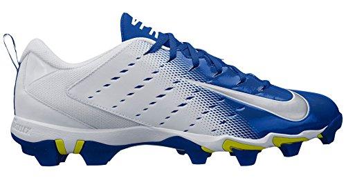 ccc0990fb NIKE Men s Vapor Untouchable Shark 3 Football Cleats - White Blue ...