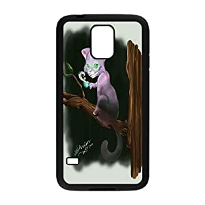 JenneySt Phone CaseAlice and Cheshire Cat Pattern For Samsung Galaxy S5 -CASE-7
