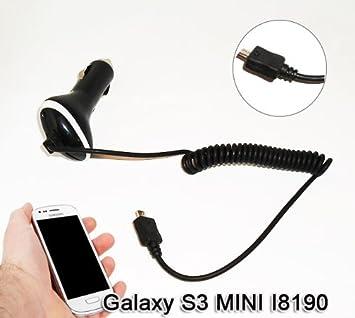 Cargador de Coche para Samsung Galaxy S3 S3III Mini I8190