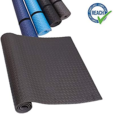 HD Fitness FM2000GREY Alfombrilla para Yoga o Proteccion ...