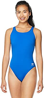 Speedo Womens Endurance+ Side Shirred Tank One Piece Swimsuit