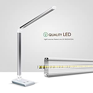 Deckey dimmable 10w rotatable led desk lamptouch sensitive control deckey dimmable 10w rotatable led desk lamptouch sensitive control paneleye caring table lampenergy aloadofball Choice Image